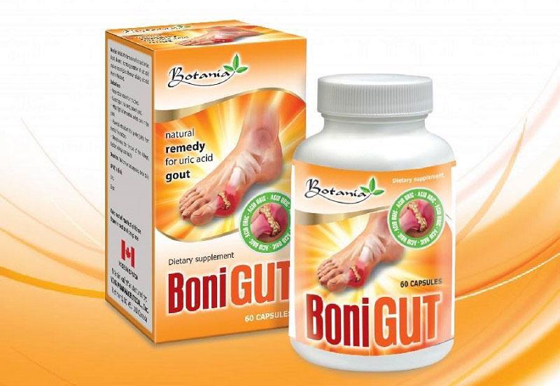 BoniGut là viên uống hỗ trợ trị gout của Canada được ưa chuộng nhất