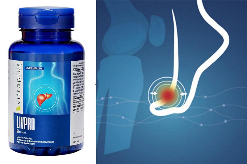Dòng thực phẩm chức năng hỗ trợ trị gout Canada VitraPlus Gout Relief
