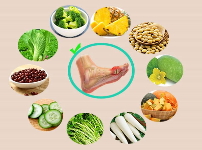 Bệnh nhân gout cần có chế độ ăn uống, sinh hoạt và luyện tập lành mạnh