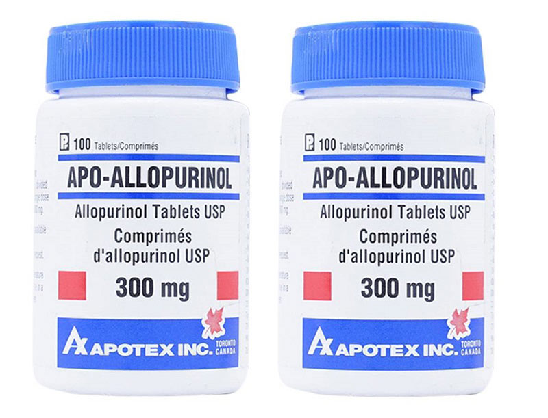 Apo Allopurinol - Loại thuốc gout Canada tốt nhất hiện nay