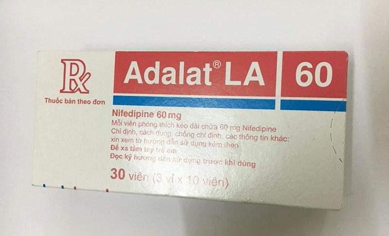 Adalat Retard là một trong những loại thuốc huyết áp của Đức hiệu quả nhất