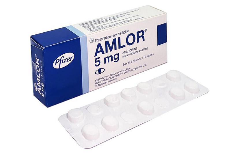 Thuốc cao huyết áp của Đức Amlor được sử dụng khá phổ biến