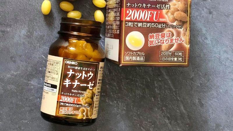 Viên uống ổn định huyết áp của Nhật Nattokinase 2000fu Orihiro