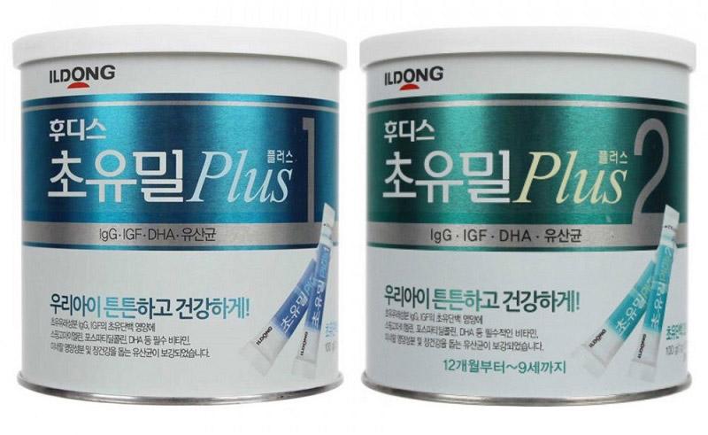 Sữa non ILDONG - Sữa bột tăng cân Hàn Quốc dành cho trẻ 1 - 9 tuổi