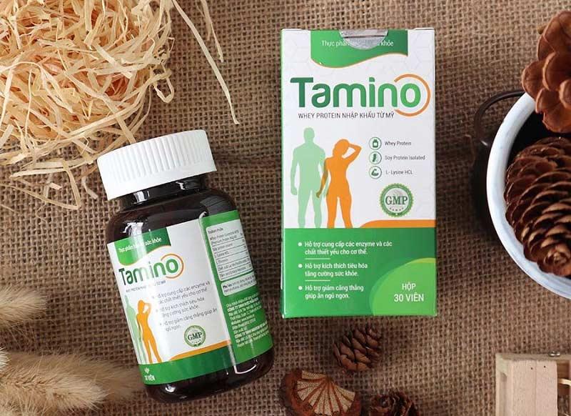 Viên uống tăng cân Hàn Quốc - Tamino là dòng thực phẩm chức năng lành tính, an toàn