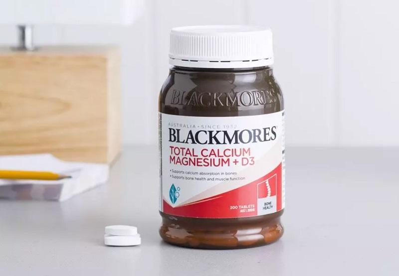Viên uống Total Calcium & Magnesium + D3 của Blackmores (Australia)