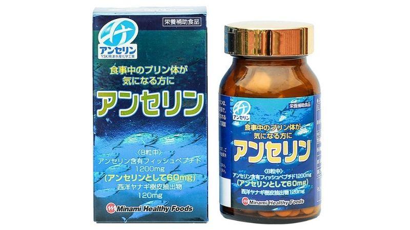 Anserine – Minami là viên uống hỗ trợ trị gout của Nhật được chuyên gia đánh giá cao