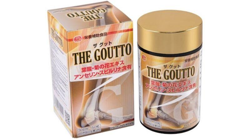 The Goutto là sản phẩm hỗ trợ trị gout của Nhật Bản rất nổi tiếng