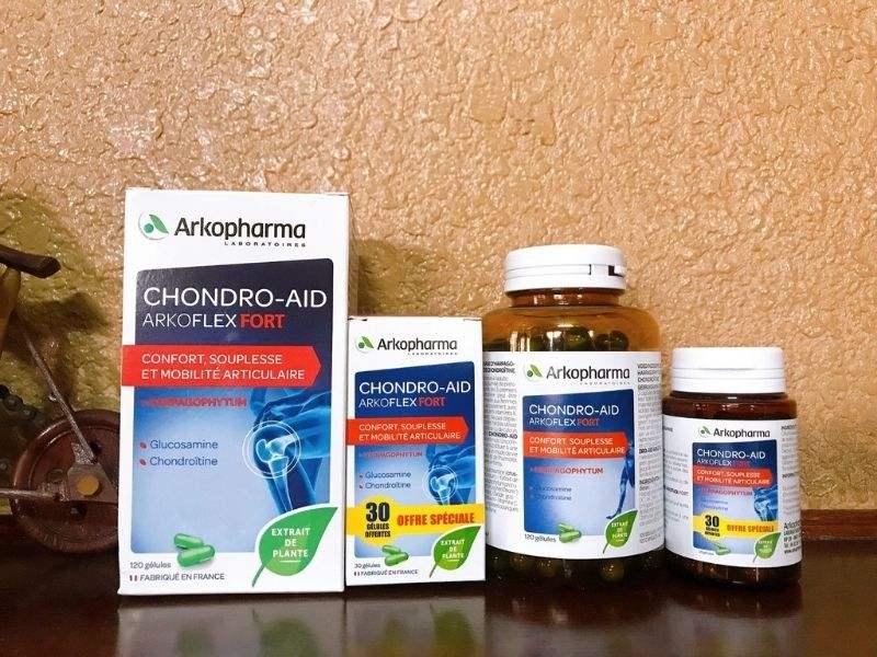 Thực phẩm chức năng hỗ trợ điều trị gout Arkopharma Chondro-Aid Arkoflex Fort