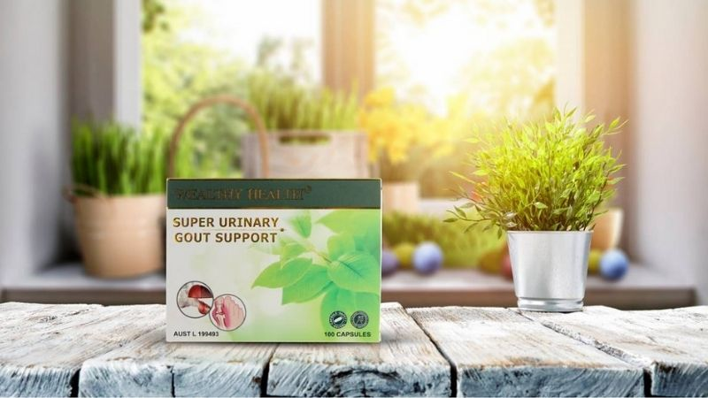 Wealthy Health Super Urinary Gout Support của Úc giúp cải thiện các cơn đau nhức nhanh chóng